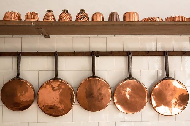 Tips voor het kopen van de juiste pannen voor in de keuken